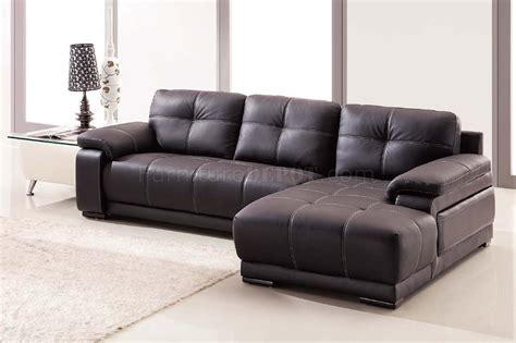 dark brown sectional sofa lucy sectional sofa in dark brown bonded leather