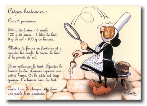 recette de cuisine humoristique cr 234 pes bretonnes il 233 tait une fois un jardin
