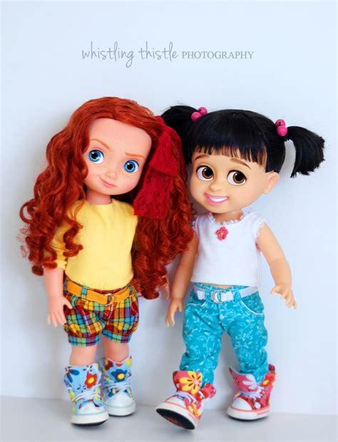 chanya suspender princess merida and boo my disney dolls