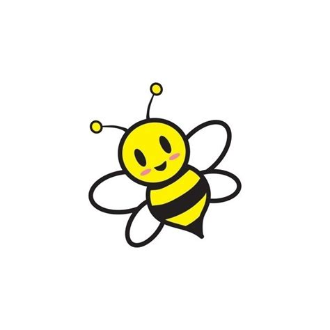 cute cartoon bee  girls camp yw girls camp bee