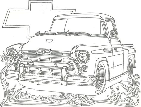 coloring pages  chevrolet truck truck coloring pages cars coloring pages chevrolet trucks