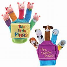Occupation Puppets (set Of 8