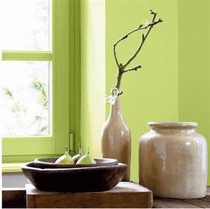 association couleur avec le vert dans salon chambre With marier couleurs peinture murale 4 5 idees deco pour marier plusieurs couleurs de peinture