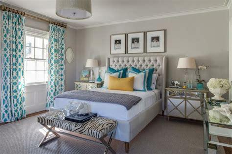 chambre blanche et turquoise turquoise brun décor de chambre à coucher