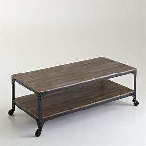 Table Basse A Roulette : table basse roulette table basse et pliante ~ Teatrodelosmanantiales.com Idées de Décoration