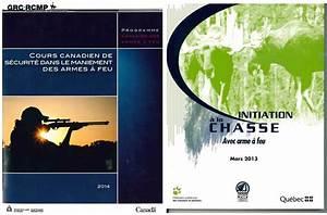Cours Canadien De Scurit Dans Le Maniement Des Armes