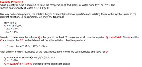 heat capacity and latent heat grade 11 physics