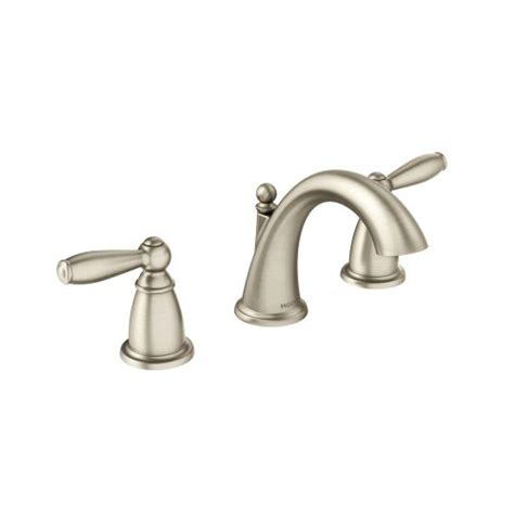 moen free lavatory faucet moen t6620bn brantford two handle widespread lavatory