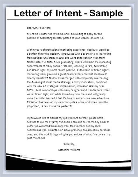write  letter  intent bravebtr