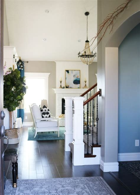 Living Room Colors That Pop by Bright White With A Pop Of Color Living Room Reveal