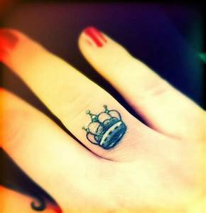 Crown Finger Tattoo | 2017 - 2018 Best Cars Reviews