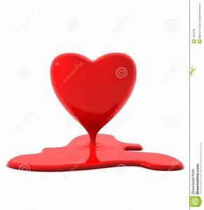Melting Heart Royalty Free Stock Photos - Image: 1621618