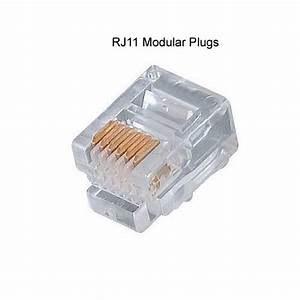 Rj11 And Rj45 Modular Plugs For Cat5e Cable
