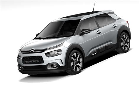 2020 citroen c4 citroen c4 cactus 2020 3d model turbosquid 1385614