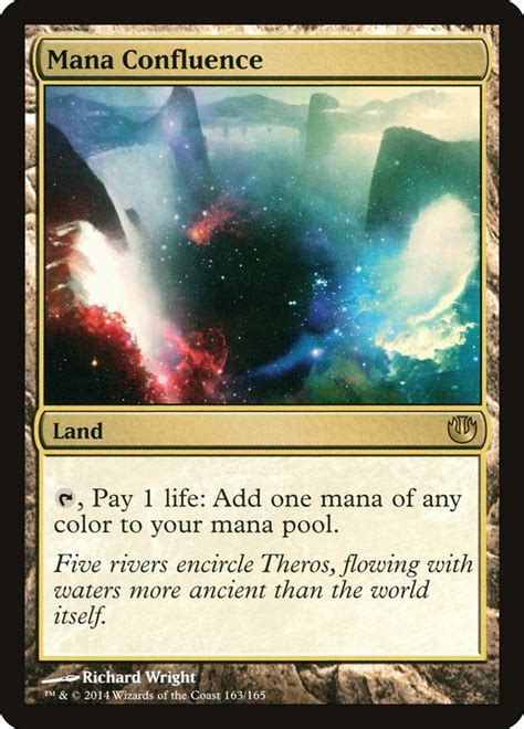Mana Confluence · Journey into Nyx (JOU) #163 · Scryfall Magic: The Gathering Search