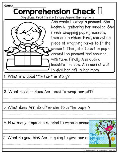 Comprehension Checks And Tons Of Other Great Printables!  Learn It  Läsförståelse, Skola, Engelska