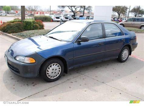 1992 Harvard Blue Pearl Honda Civic Lx Sedan 6217833