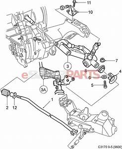 5164108  Saab Shifter Linkage