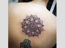 Tatouage Fleur De Lotus Mandala Dos Tattooart Hd