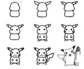 draw pokemon step step