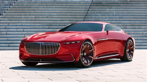 Maybach Car : 2017 Vision Mercedes Maybach 6 Wallpaper