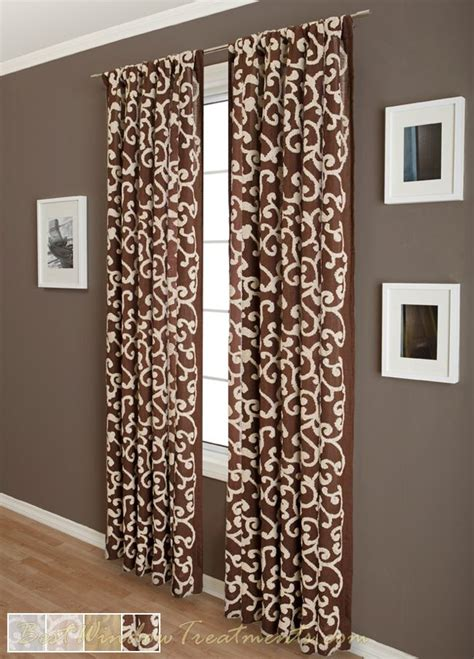 strathcona linen blend semi sheer curtain panel in