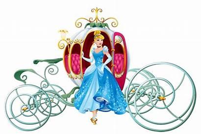 Cinderella Carriage Pumpkin Clip Disney Clipart Princess