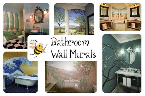 Bathroom Mural Ideas by You A Wall Mural Where Bumble Bee Murals
