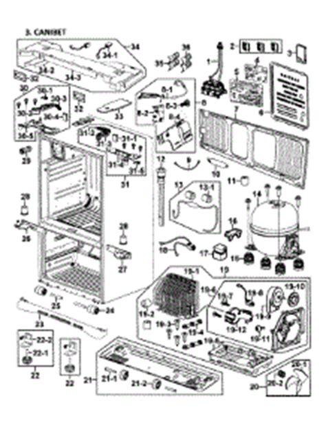 parts  samsung rfabwpxaa  refrigerator