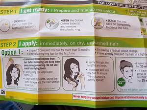 These Hair Dye Instructions Are Written In The First