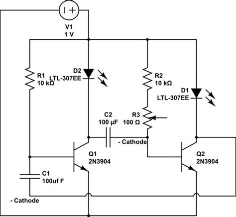 Diodes Alternative Leds Blinking Circuit Analog Help