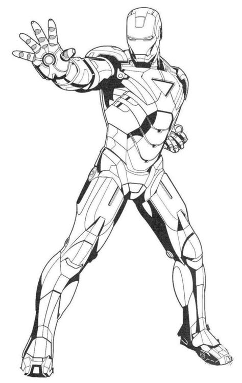 iron man coloring pages  gianfredanet