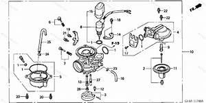 Honda Scooter 2002 Oem Parts Diagram For Carburetor
