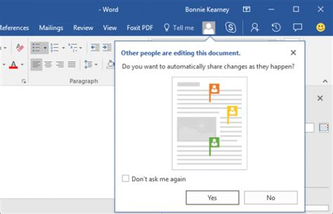 collaborate  share documents  word  windows