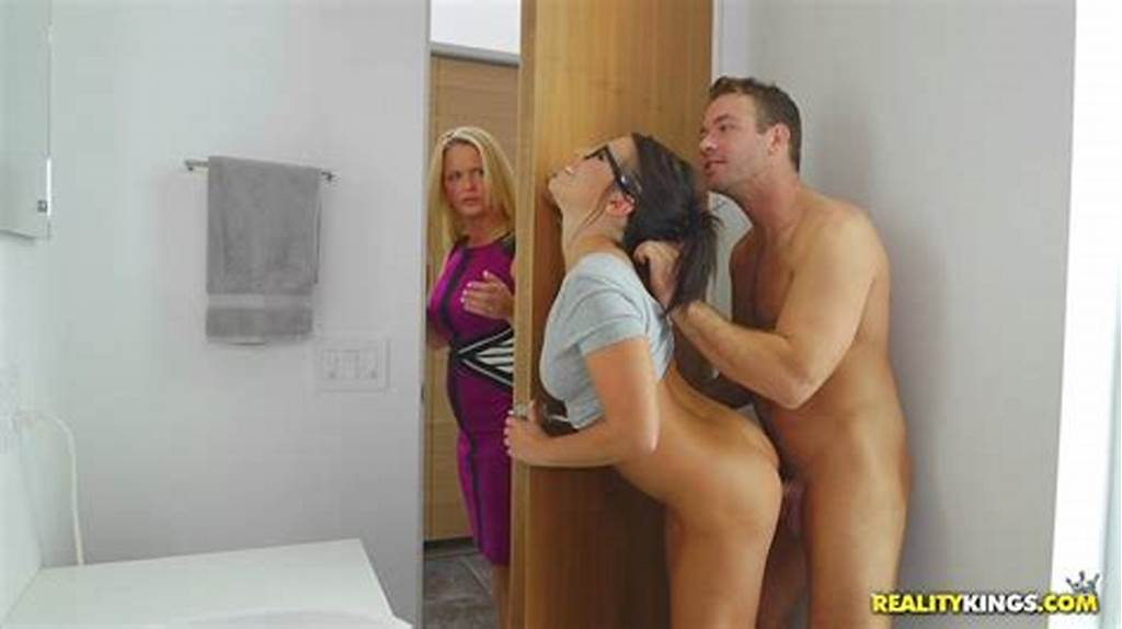#Chad #Almost #Caught #With #His #Dick #Stuck #In #Adriana #Chechik