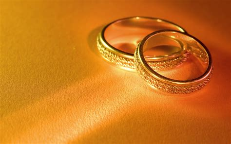 gold wedding rings hd wallpaper background images