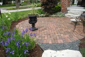 Image of: Brick Patio Design Fire Pit 760 Brick Patio Designs For Your Garden