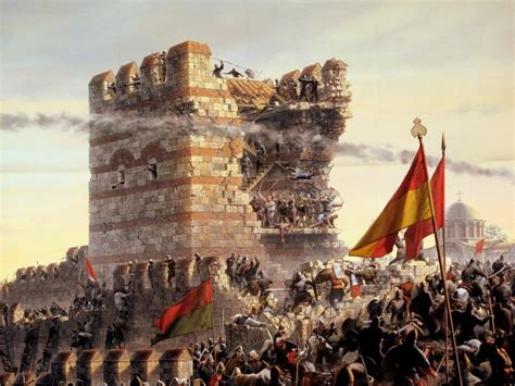 Ottomans Capture Constantinople by Fall Of Constantinople War Fall Of