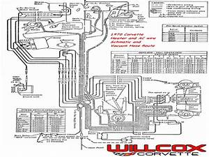C3 Corvette Air Conditioning Diagram