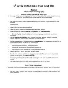 6th Grade Social Studies Worksheets