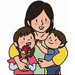 Ibu Anak Kartun Gambar Clipart Dan Mother