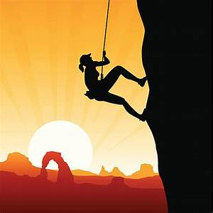 Royalty Free Rock Climbing Clip Art, Vector Images ...