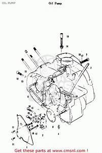 Suzuki A100 As100 Ac100 1969 Usa  E03  Oil Pump