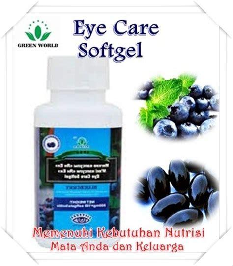 jual obat herbal untuk mata minus eye care softgel green