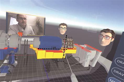 une salle de r 233 union virtuelle en immersion 3d construction num 233 rique