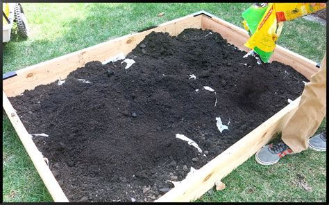 Raised Garden Bed Soil Mix  The Garden Inspirations