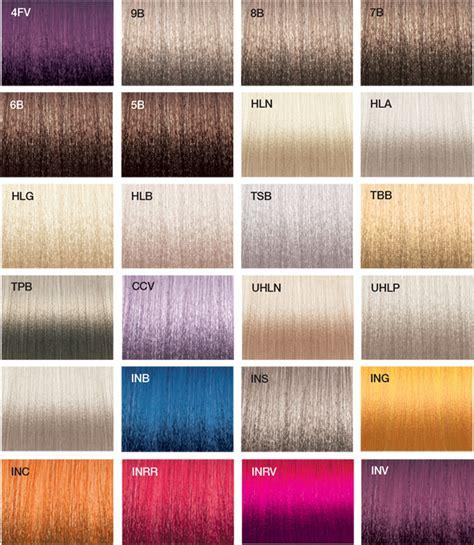 joico colors vero k pak chrome color swatches joico joicolor system