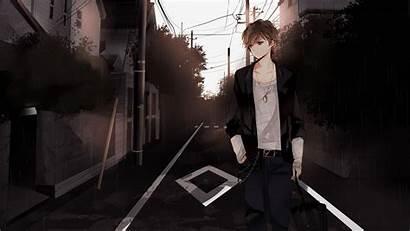 Anime Sad 1080p Pc Background Popular Boy