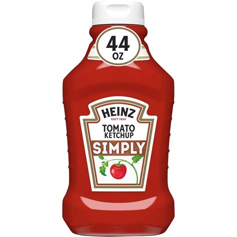 Heinz Simply Tomato Ketchup, 44 oz Bottle Reviews 2021