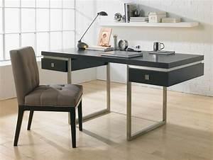 Modern Office Desk Classic : New Set Up Modern Office Desk